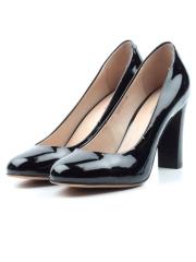 F95-011 BLACK Туфли женские (натуральная кожа)