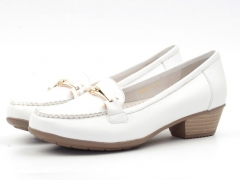 ADARE1-1-2 WHITE Туфли женские (натуральная кожа)