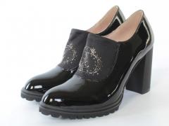 37B-3C1 7J29S BLACK Туфли женские (натуральная кожа)