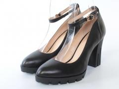801-2B1 J6214P BLACK Туфли женские (натуральная кожа)