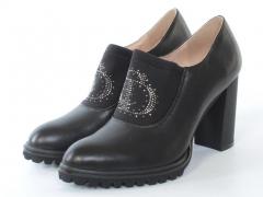 37B-3B1 7J28S BLACK Туфли женские (натуральная кожа)