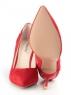 V-685 RED Туфли женские (натуральная замша)