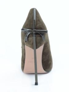 V-688 GREEN Туфли женские (натуральная замша)