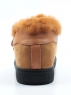 MM75-3 CAMEL Ботинки зимние женские (натуральная замша, нат.мех)