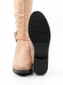 A483-9077BM-3 PINK Сапоги женские (натуральная кожа, натуральный мех (еврозима))