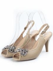F1C12-2-6 APRICOT Туфли женские (натуральная кожа)