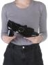 N18116P-2 BLACK Полуботинки женские (натуральная кожа, лакированная)