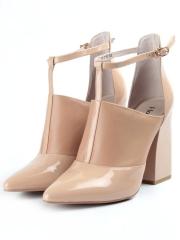 V-219 BEIGE Туфли женские (натуральная кожа)