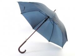 37001-06 Зонт-трость деревянный, унисекс (автомат)