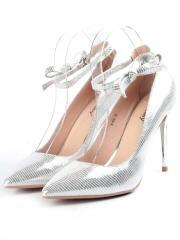 V-886 SILVER Туфли женские (натуральная кожа)
