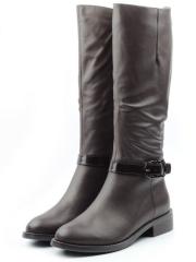 TBM71-35 748/A187/COFFEE Сапоги зимние женские (натуральная кожа, натуральный мех (еврозима))