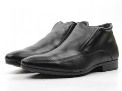 80035AA Ботинки мужские (натуральная кожа, натуральный мех)