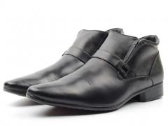 8833AA Ботинки мужские (натуральная кожа, натуральный мех)