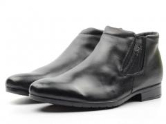 8985AA Ботинки мужские (натуральная кожа, натуральный мех)