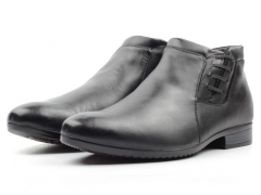 80000AA Ботинки мужские (натуральная кожа, натуральный мех)