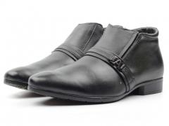 8813AA Ботинки мужские (натуральная кожа, натуральный мех)