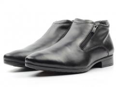 80030AA Ботинки мужские (натуральная кожа, натуральный мех)