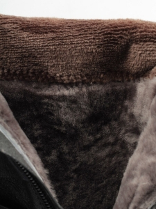 MX52F-16546RM N969 BLACK Сапоги зимние женские (натуральная кожа, натуральный мех (еврозима))