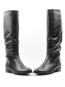 M94-G1613RM N8101 BLACK Сапоги зимние женские (натуральная кожа, натуральный мех (еврозима))