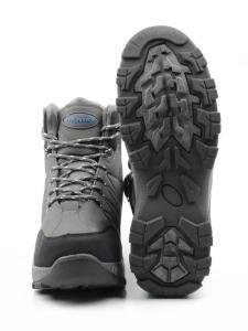 A102-8 Ботинки зимние мужские (искусственная кожа, искусственный мех)