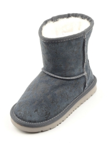 2581-2 Угги зимние для девочки (искусственные материалы)