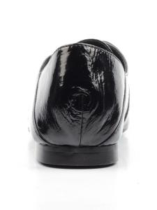 N1890S-1 BLACK Полуботинки женские (натуральная кожа, лакированная)
