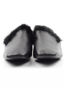 N18120S-2 BLACK Полуботинки женские (натуральная кожа)