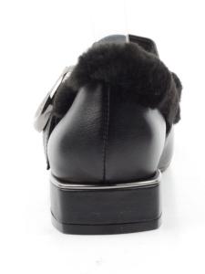 N18121P-3 BLACK Полуботинки женские (натуральная кожа)