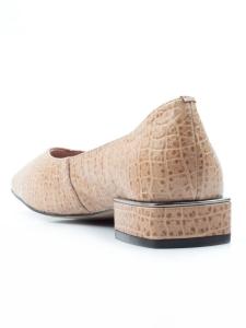 N18121P-1 BEIGE Туфли женские (натуральная кожа)