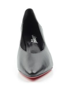 N1891P-1 BLACK Туфли женские (натуральная кожа)