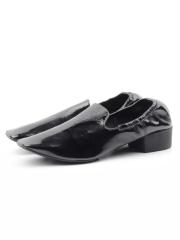 N18120S-1 BLACK Туфли женские (натуральная кожа, лакированная)