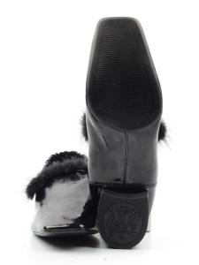 N18120S-2 BLACK Туфли женские (натуральная кожа)