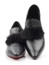 N1891S-1 BLACK Туфли женские (натуральная кожа)