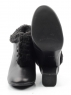 A02S-2 BLACK Ботильоны женские (натуральная кожа)