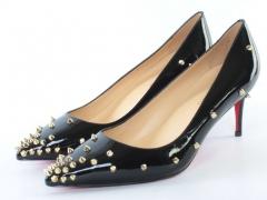 A111-2-Q004-KQP BLACK Туфли женские (натуральная кожа)
