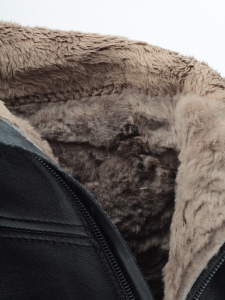 K66-A1 BLACK Сапоги зимние женские (натуральная кожа, натуральный мех (еврозима))
