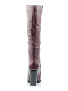 K47-A4 WINE RED Сапоги зимние женские (натуральная кожа, натуральный мех (еврозима))