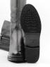 K74-A1 BLACK Сапоги зимние женские (натуральная кожа, натуральный мех (еврозима))