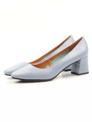 L-01-1 BLUE Туфли женские (натуральная кожа)