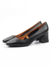 L-01-1-4 BLACK Туфли женские (натуральная кожа)