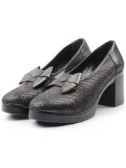 786-17 BLACK Туфли женские (натуральная кожа)