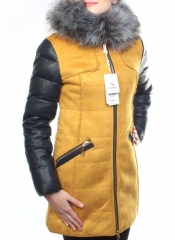 5157 Парка женская зимняя (150 гр синтепон, искусственный мех)