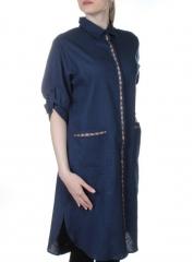 1751 Туника женская с карманами KUN TAI