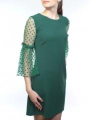 E2001 Платье женское (90% полиэстер, 10% эластан)