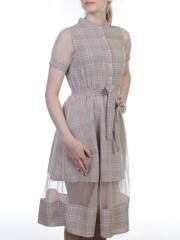 1807 Платье женское (90% полиэстер, 10% фатин)
