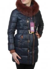 YM13-068 Пальто женское зимнее (холлофайбер, натуральный мех)