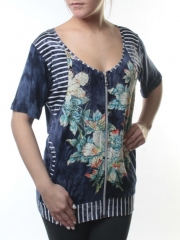 E0078 Блузка женская (65% хлопок, 35% полиэстер)