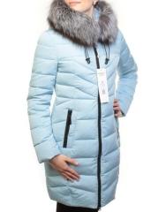 D16-788 Пуховик женский зимний (90% пух, 10% перо, натуральный мех чернобурки)