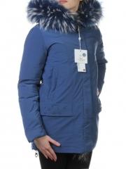 829 Куртка с большой меховой опушкой Fine Baby Cat