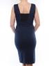 883 Платье женское трикотажное (50% хлопок, 50% полиэстер )